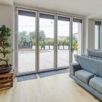 baie vitrée : rénovation extension maison L'Union