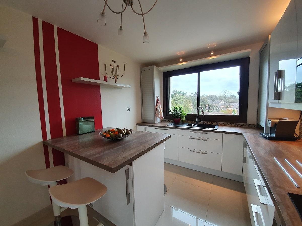 Rénovation d'un appartement dans les Yvelines à Verneuil-sur-Seine (78)