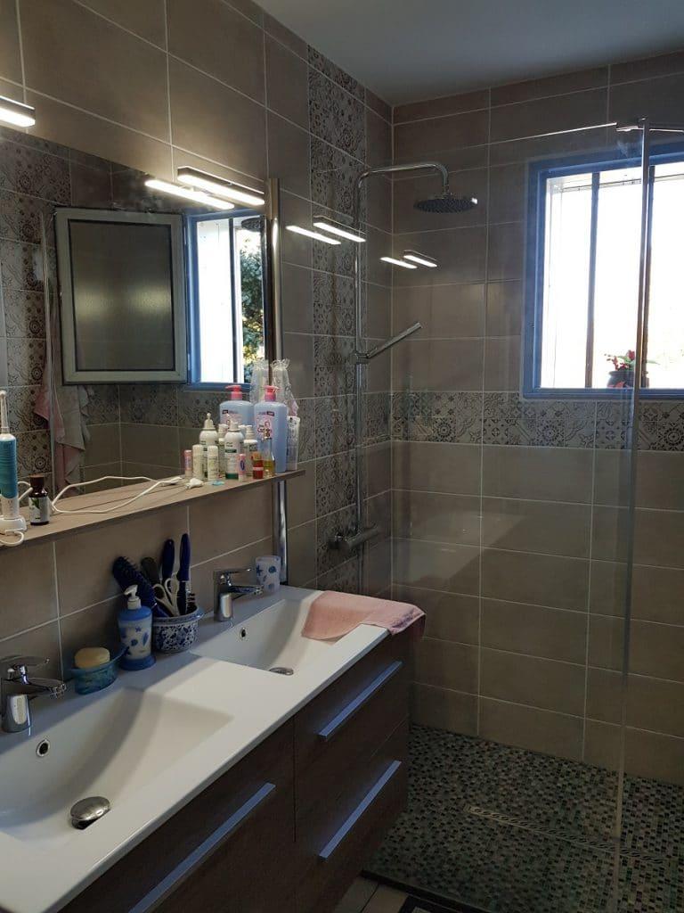 Rénovation d'une salle de bain à Gurs (64)