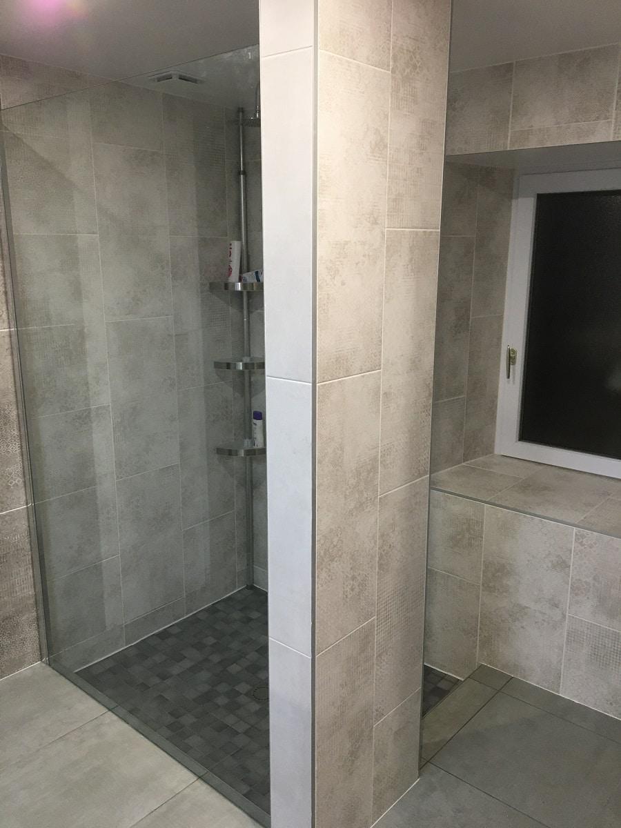 Rénovation d'une salle de bain à Daumeray près d'Angers (49)