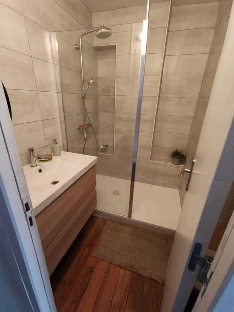 Rénovation d'une salle de bain à Grenoble (38)