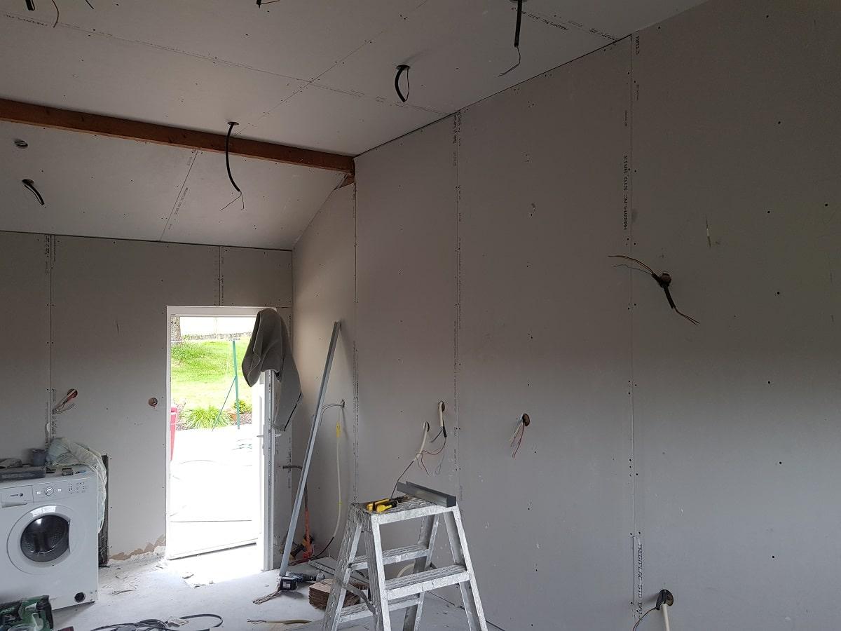 Transformation d'un garage en cuisine à Bérenx (64)