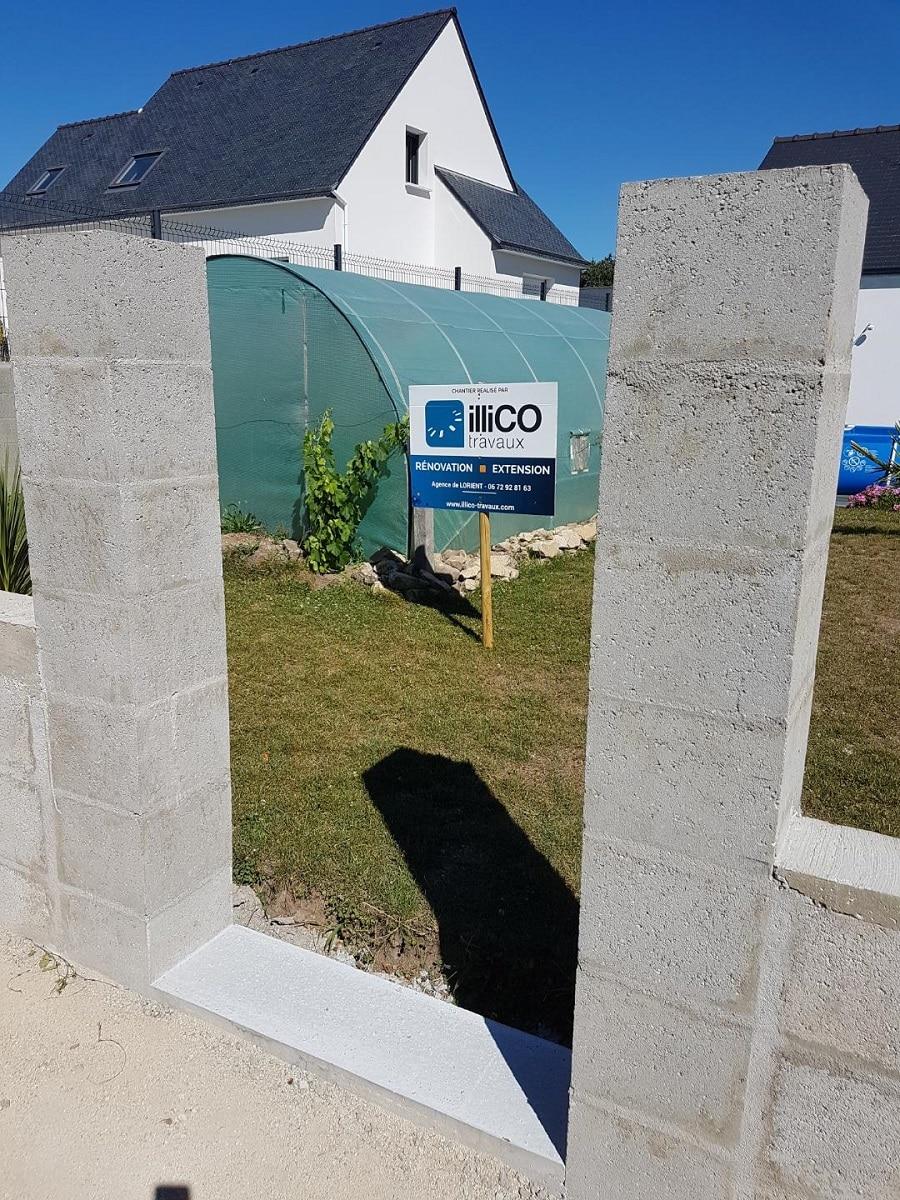 Aménagements extérieurs à Belz (56)