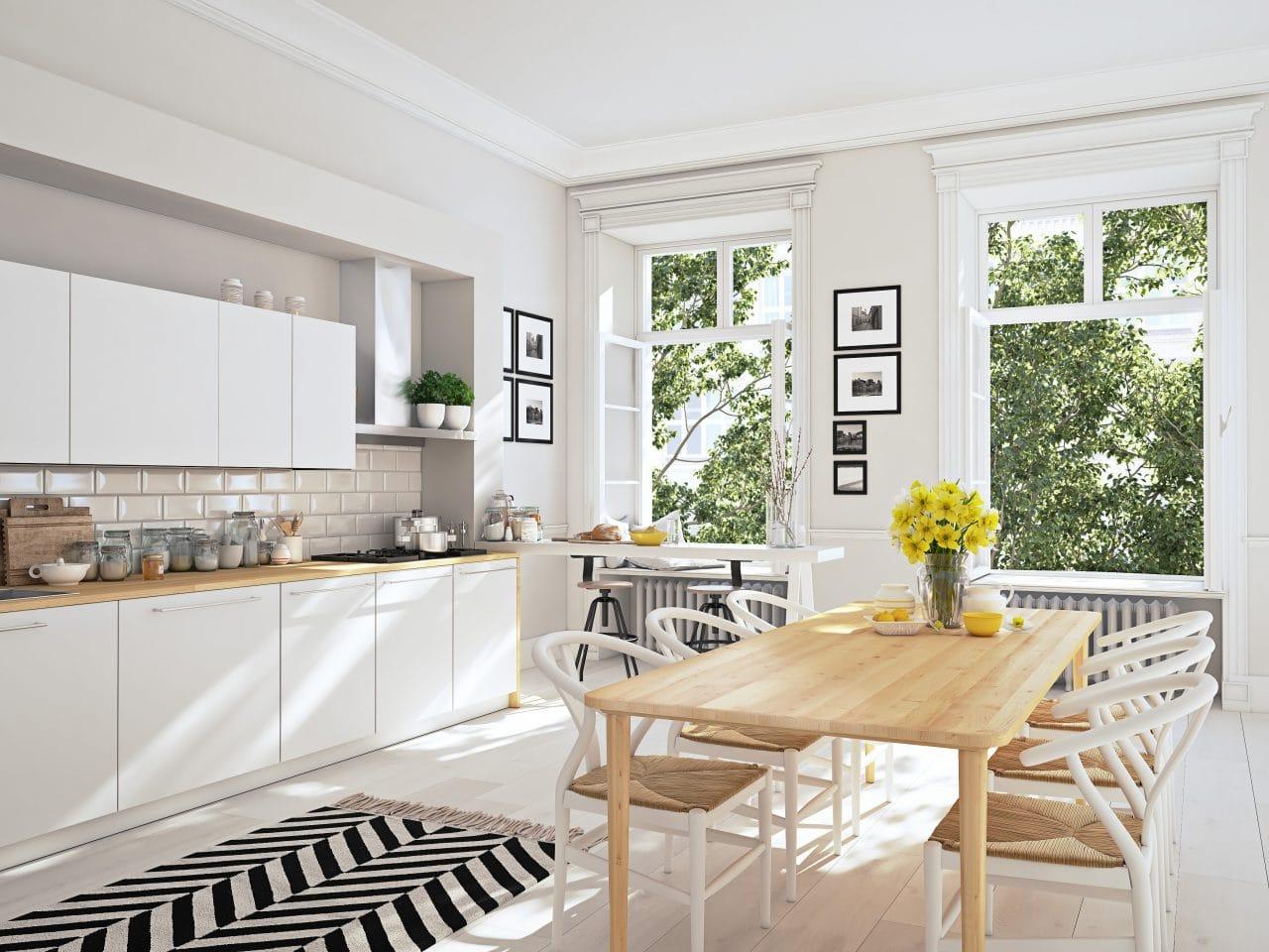 extension maison thiais : extension horizontale, cuisine
