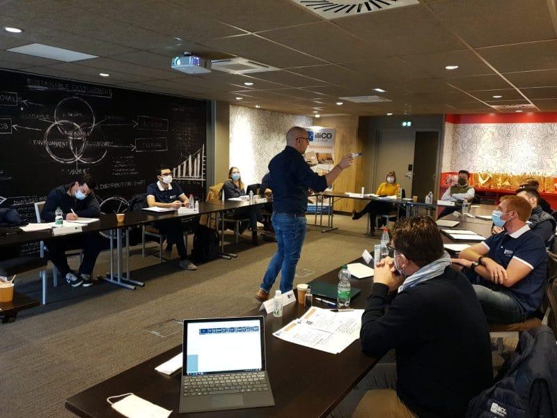 Première session de formation initiale 2021 à Niort
