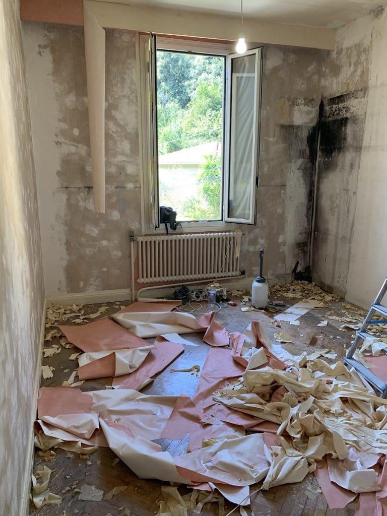 Rénovation complète d'une maison à Nice (06)