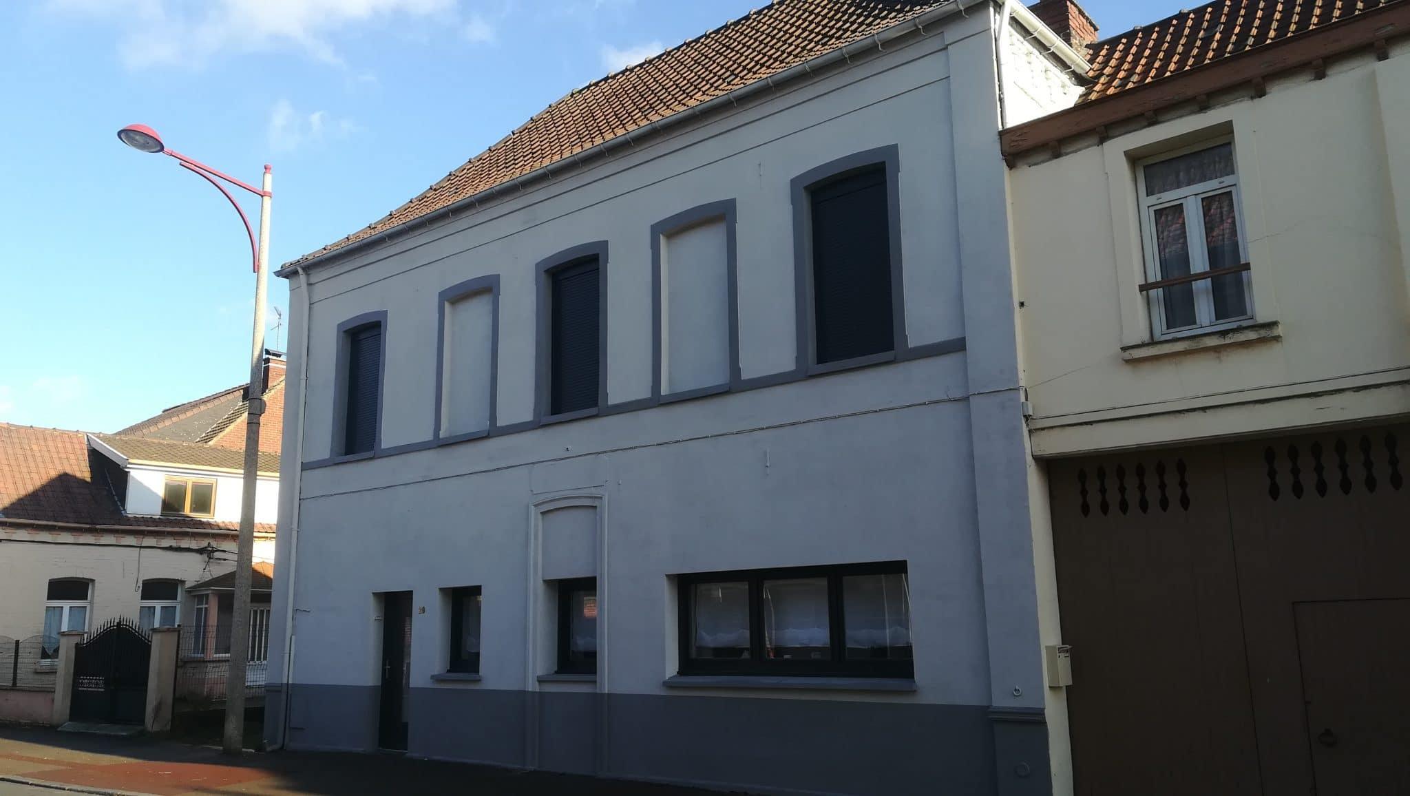 Rénovation d'une maison à Leforest dans le Pas-de-Calais (62)