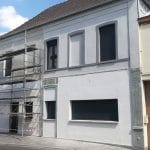 ravalement de façades - rénovation complète d'une maison à Leforest dans le Pas-de-Calais