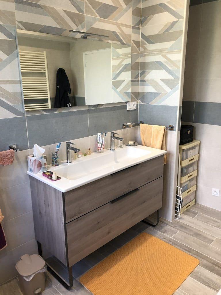 Rénovation d'une salle de bain à Garancière (78)