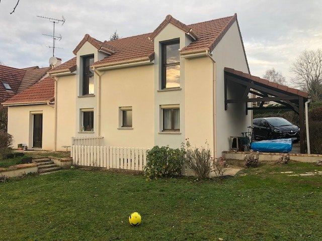 Surélévation partielle d'une maison à Villiers Saint Frédéric (78)