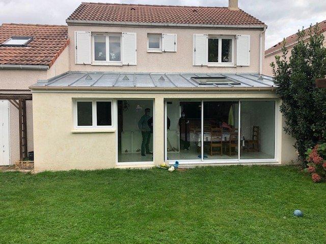 Agrandissement d'une maison à Montigny-le-Bretonneux (78)