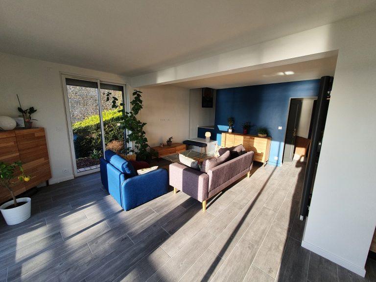 Rénovation d'une maison à Saint Suliac (35)