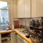 Cuisine avant travaux - rénovation d'une cuisine à Paris