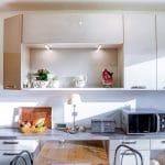 Cuisine aménagée contemporaine - Création d'une extension bois à Lipsheim pour accueillir une cuisine