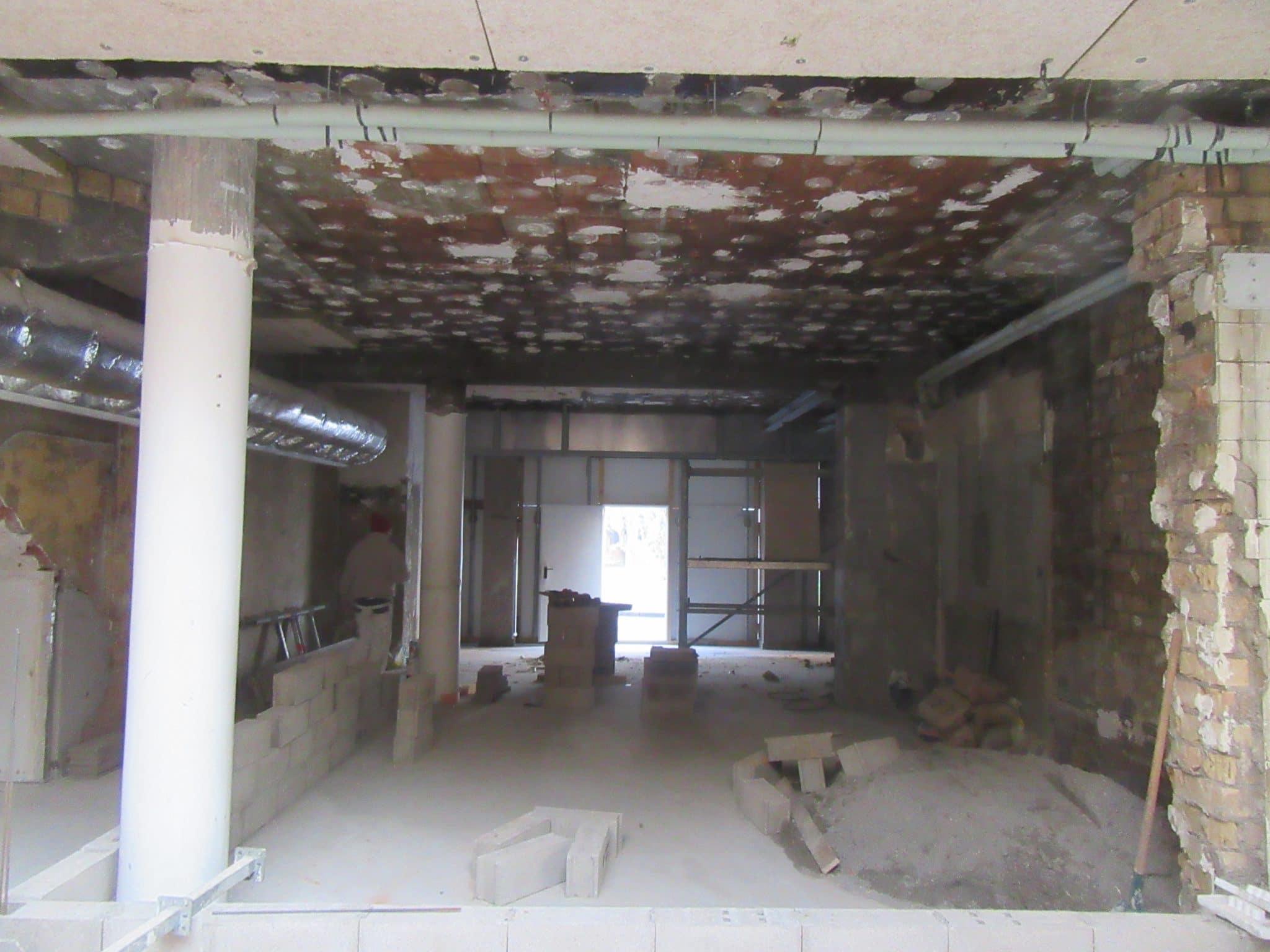 Rénovation d'un local professionnel à Nancy (54)