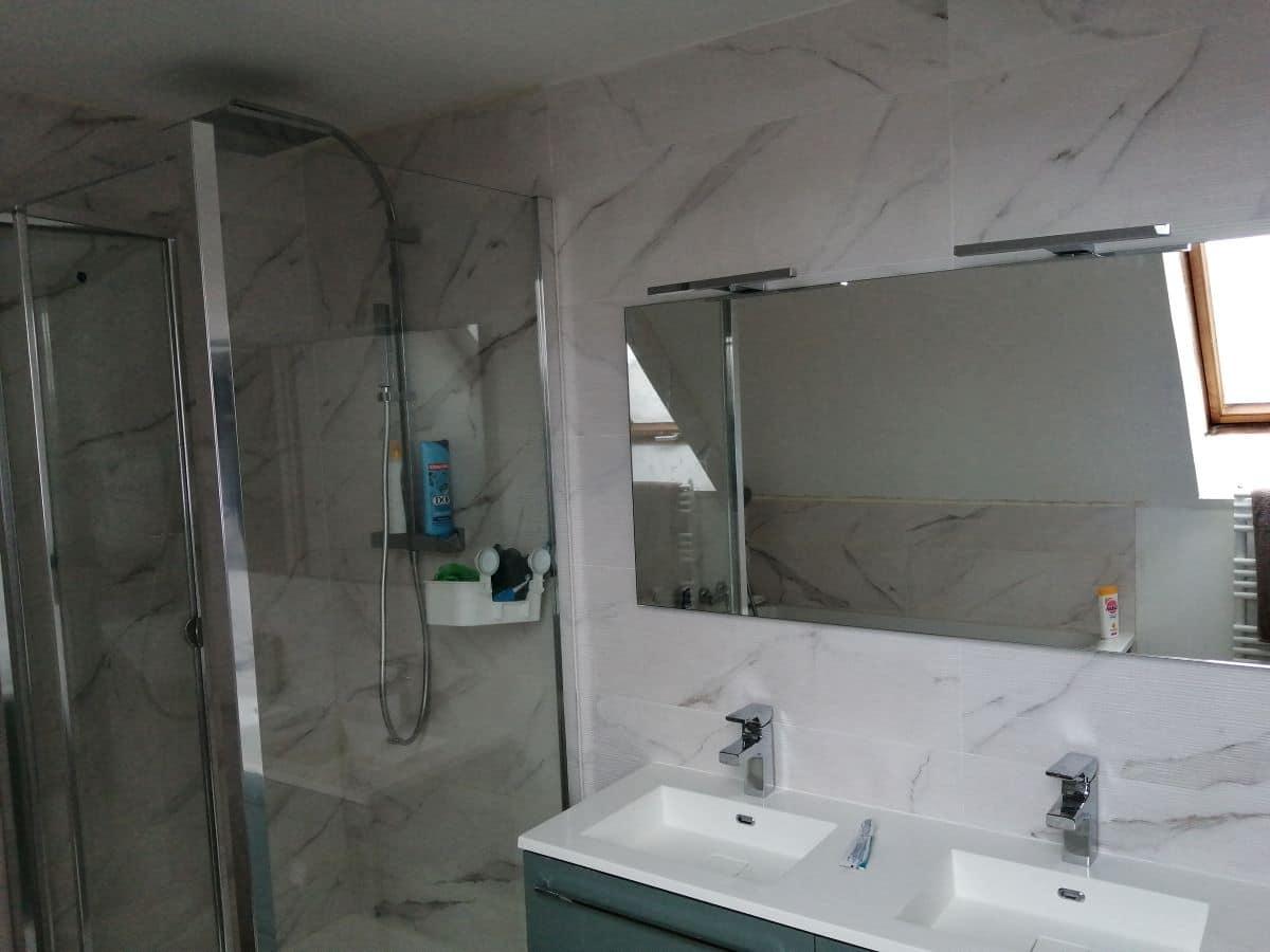 Rénovation d'une salle de bain au Coudray (28)