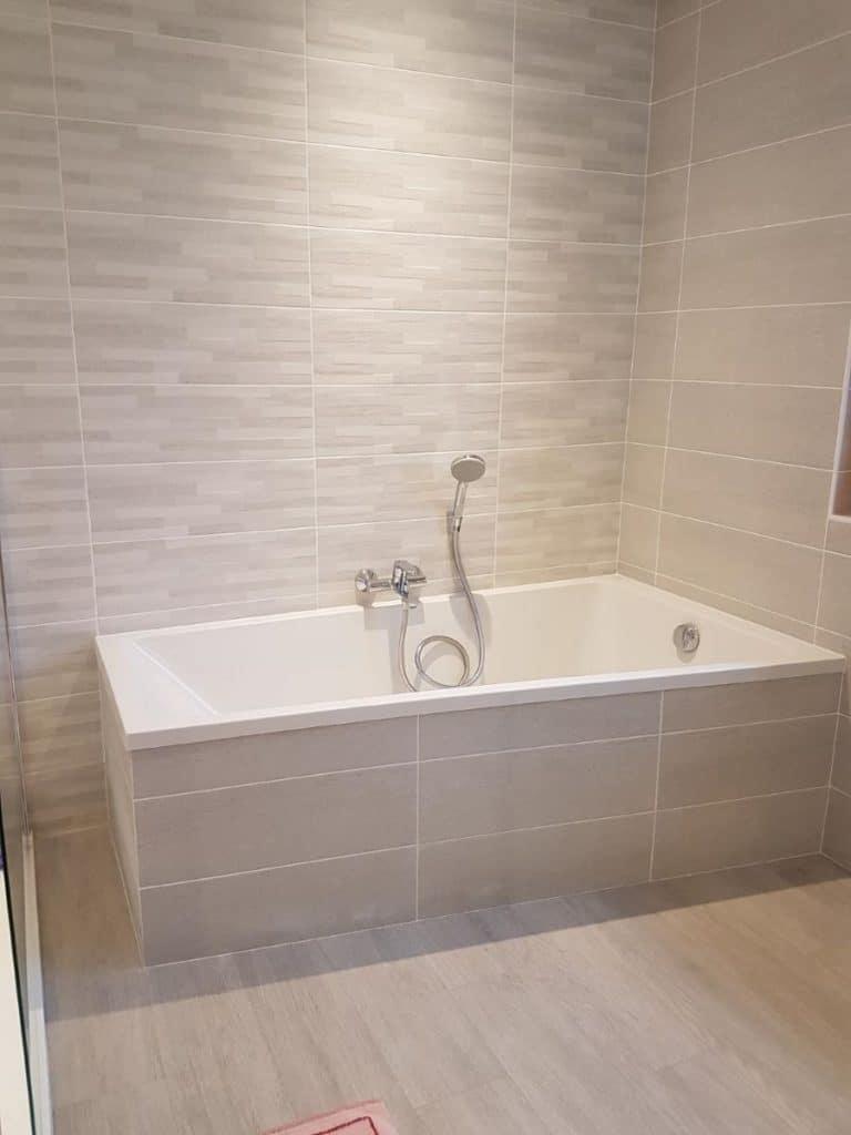 Rénovation d'une salle de bain et d'un dressing à Queven (56)