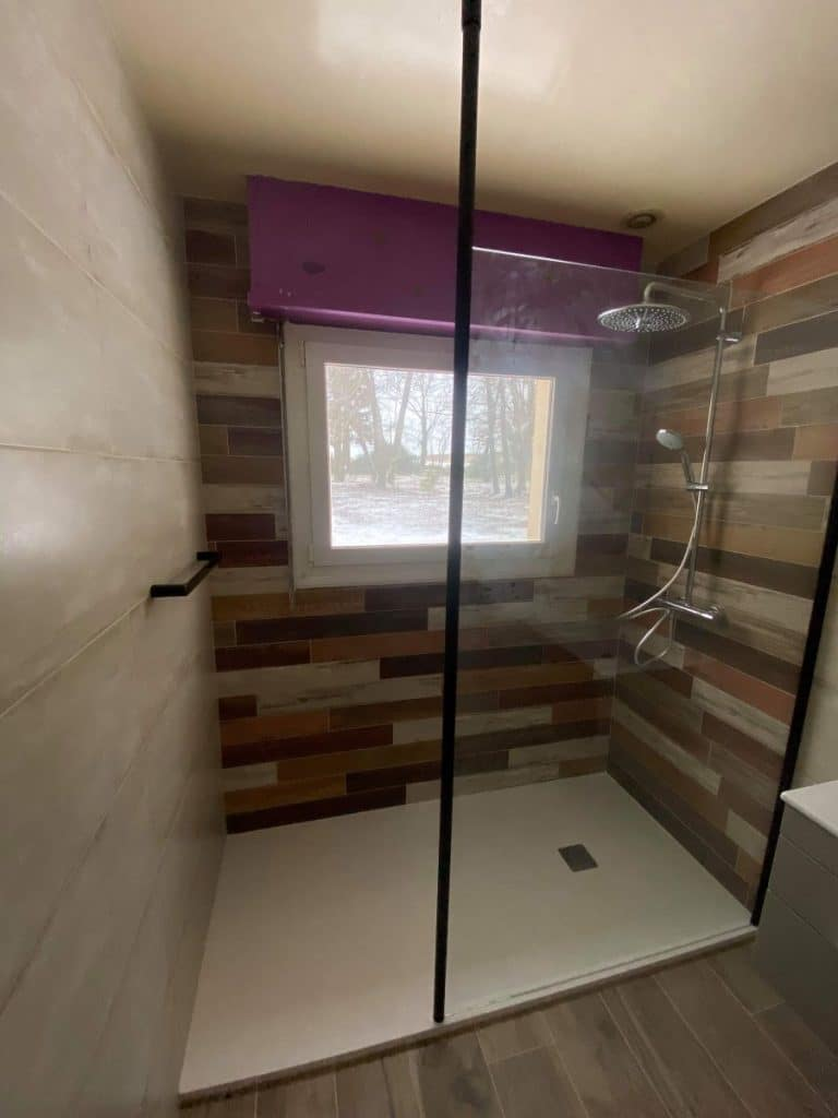 Rénovation d'une salle de bain à Kervignac (56)