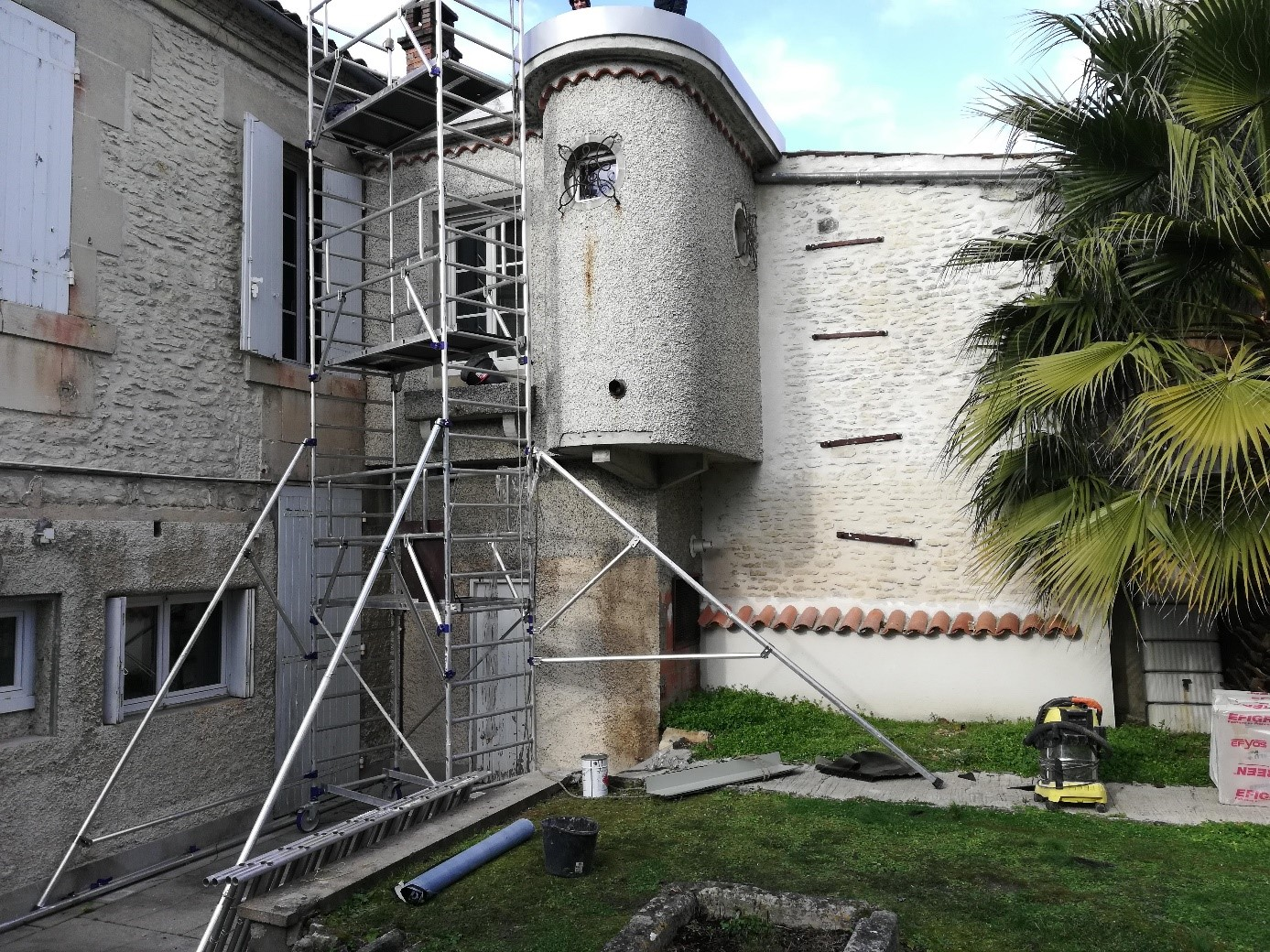 Rénovation d'un toit terrasse à Cognac (16)