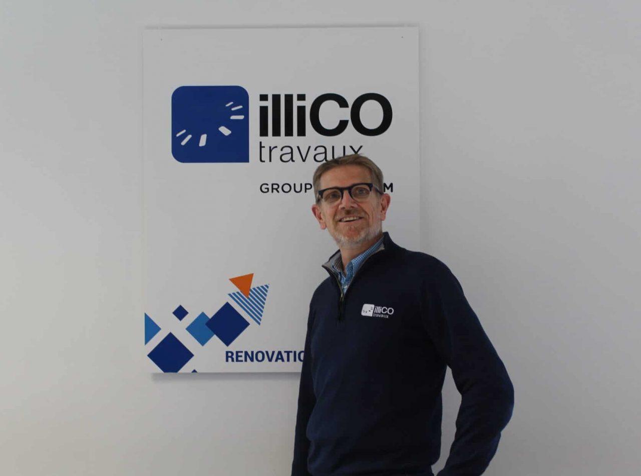 Bruno Wojszvzyk responsable de l'agence locale illiCO travaux Dax - Hossegor - Soustons