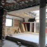 Remise aux normes - rénovation d'un local professionnel à Nancy