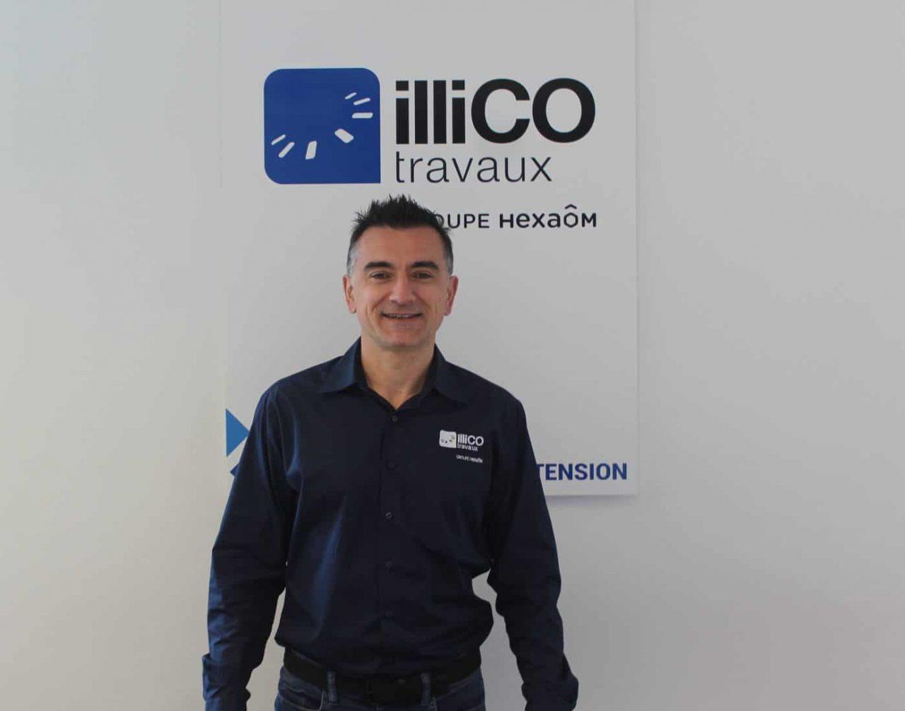 Frédérik Cortet interlocuteur unique de l'agence locale illiCO travaux Mérignac - Pessac