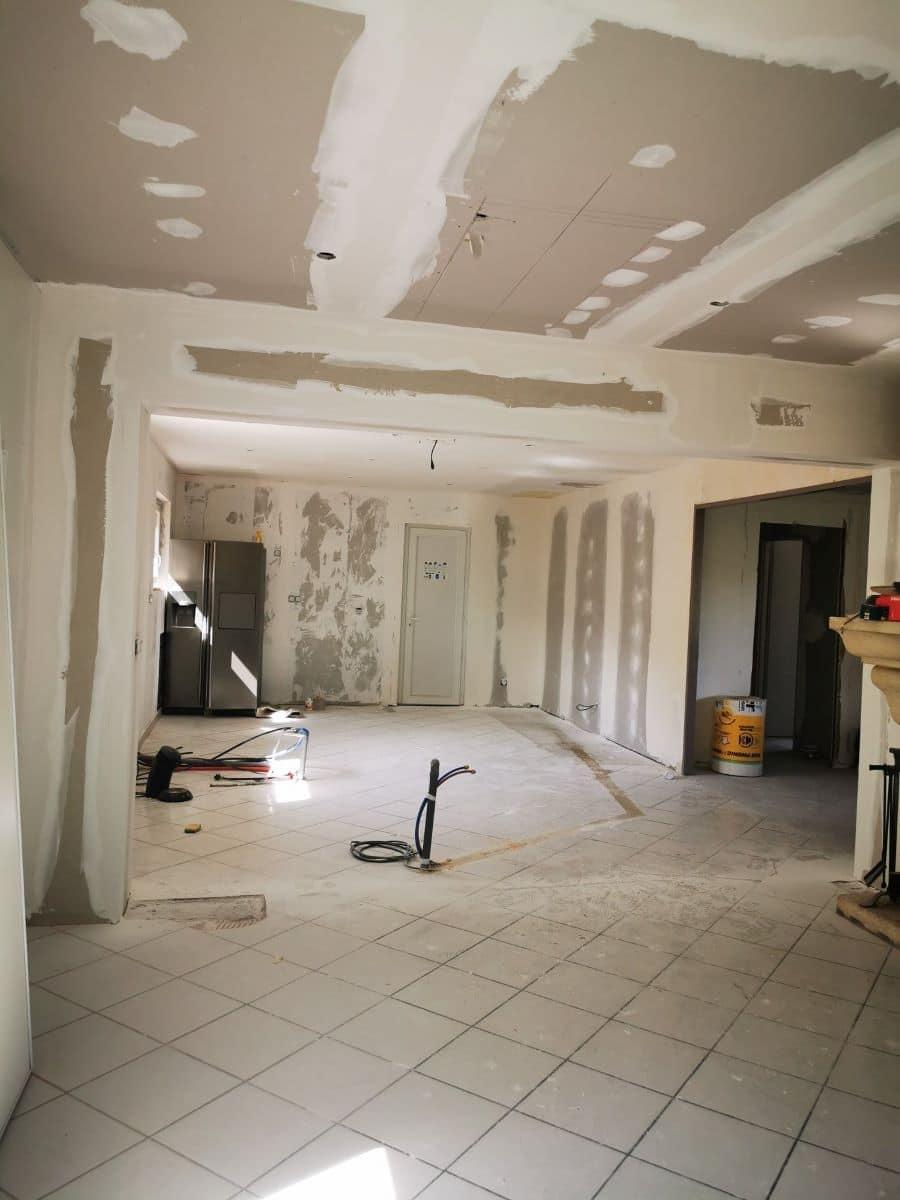 Rénovation partielle d'une maison à Ambarès et Lagrave (33)