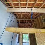 Couverture - Construction d'une extension de maison en bois à Ambarès et Lagrave