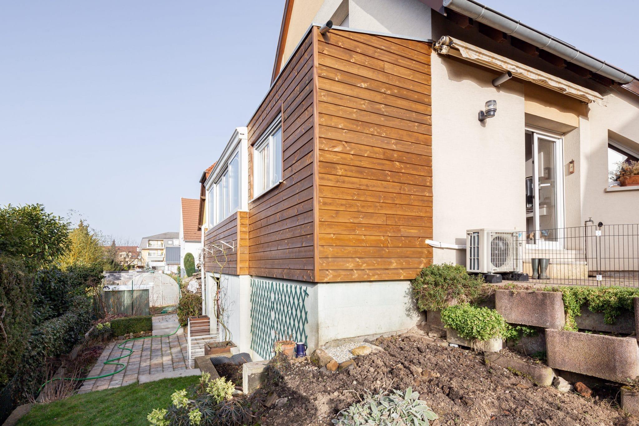 Création d'une extension en bois à Lipsheim, près de Strasbourg (67)