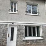 Peinture de la façade - rénovation complète d'une maison à Limoges
