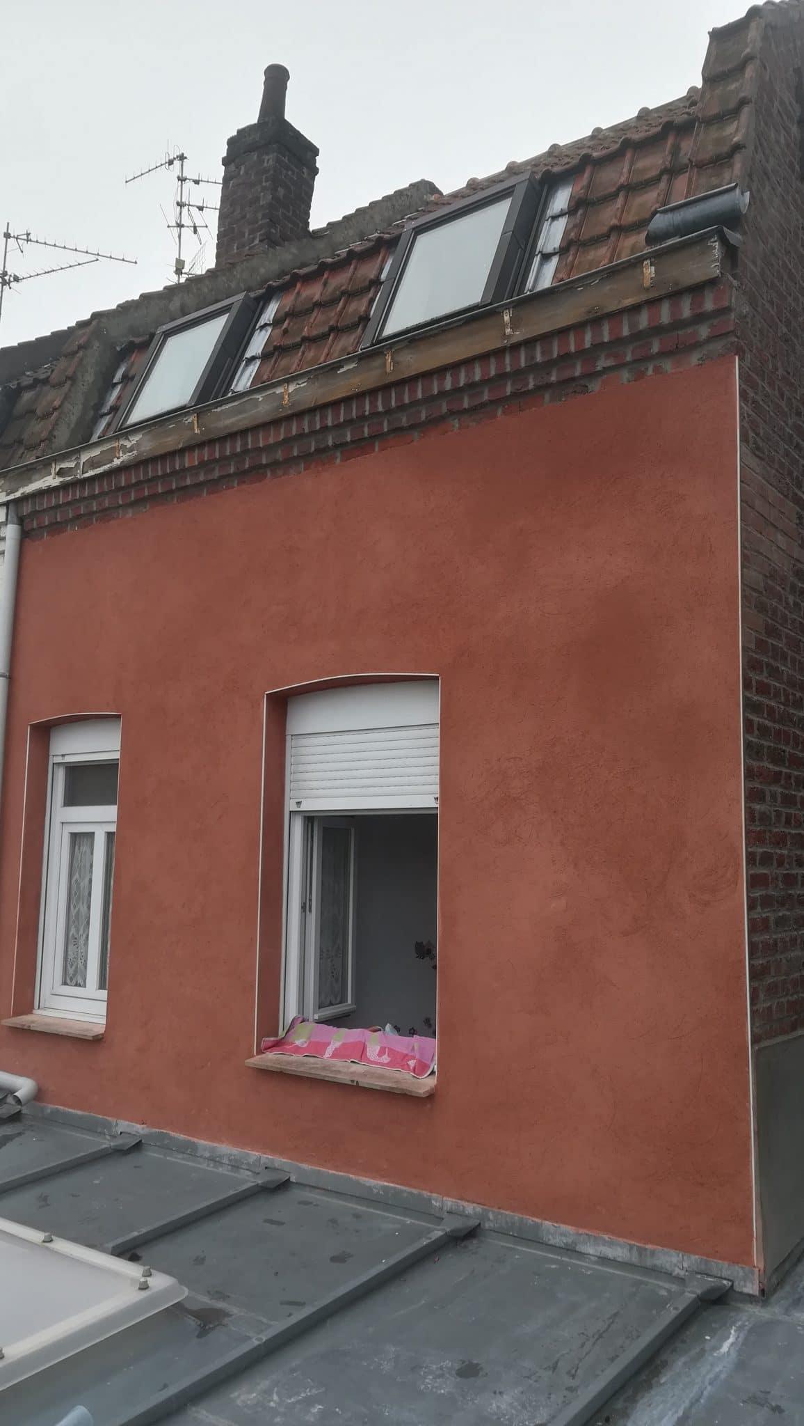 Ravalement de façade à Hellemmes-Lille (59)