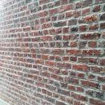 Ravalement de la façade - Ravalement de façade sur une maison à Hellemmes-Lille