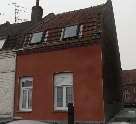 rénovation façade Hellemmes Lille