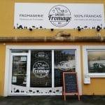 Devanture de la fromagerie - rénovation d'un local professionnel près de Chartres