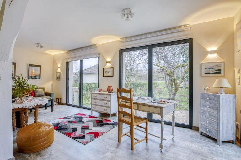 Extension de maison à Moyvillers (60)