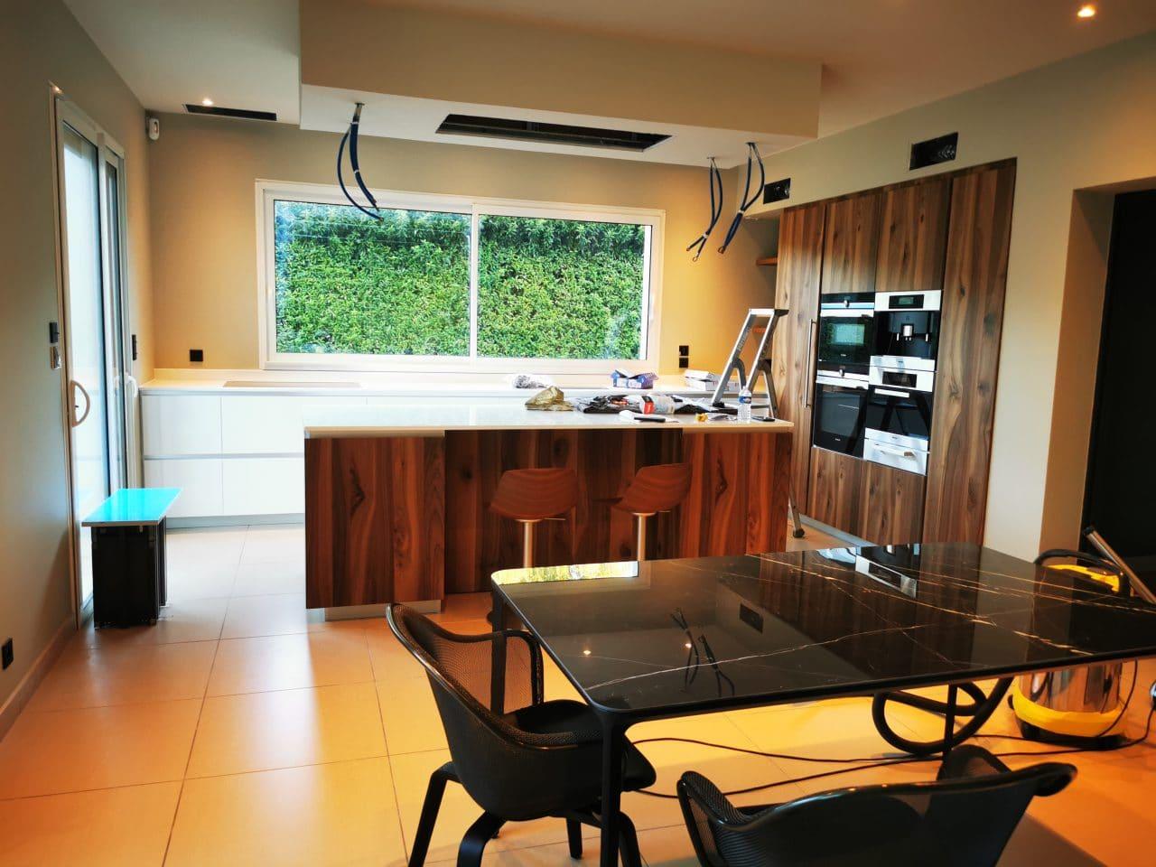Cuisine - Rénovation d'une maison à Saint Sulpice et Cameyrac (33)