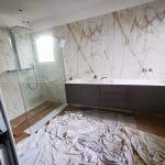 Salle de bain - Rénovation d'une maison à Saint Sulpice et Cameyrac (33)