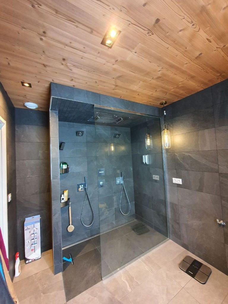 Rénovation d'une salle de bain à Andrézieux-Bouthéon (42)