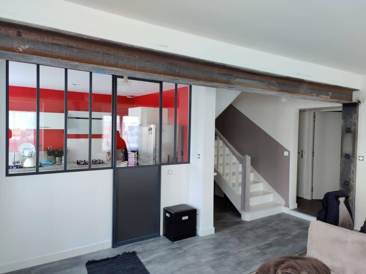 Rénovation d'un salon à Brest (29)