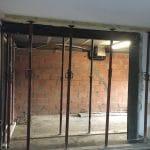 Ouverture du mur porteur Rénovation agrandissement d'un salon à Sablons