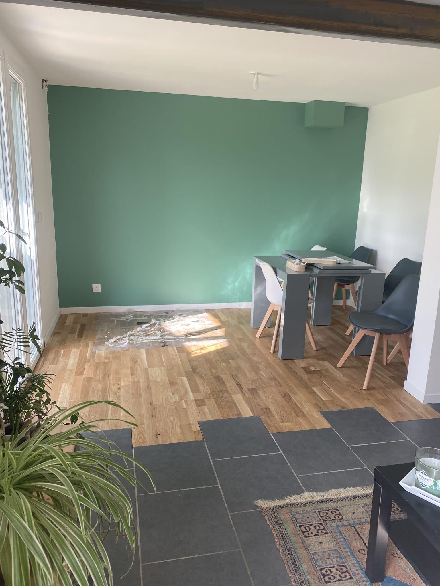 Rénovation d'un salon à Sablons (33)