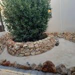 Bassin extérieur aménagé - Aménagement extérieur d'un patio près de Montpellier
