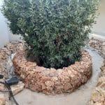 Pose des roches naturelles - Aménagement extérieur d'un patio près de Monptellier