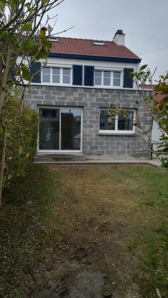 Extension en maçonnerie traditionnelle Extension de maison à Lambersart dans le Nord