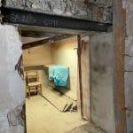 Poutre IPN posée - maison près de Carcassonne