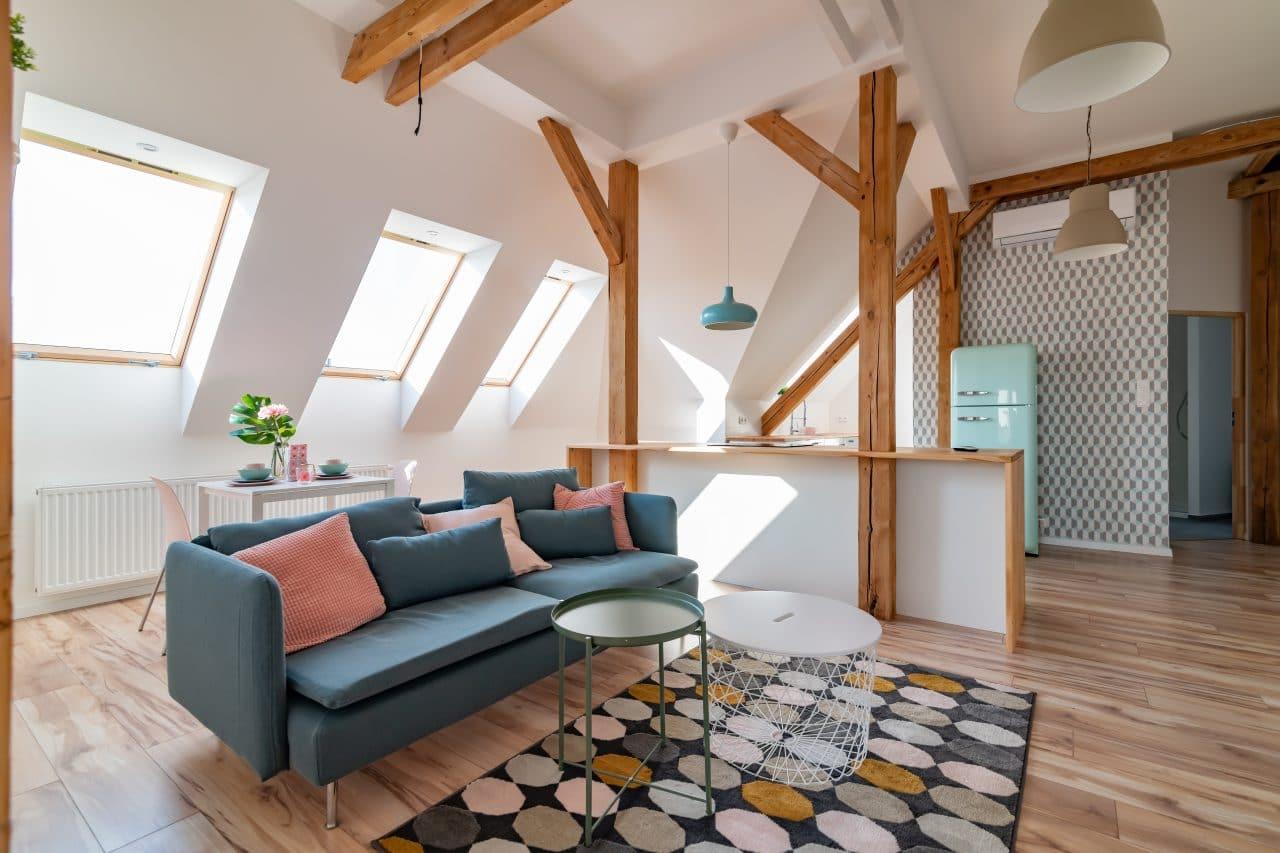 rénovation d'appartement à Tours - sous combles par illiCO travaux