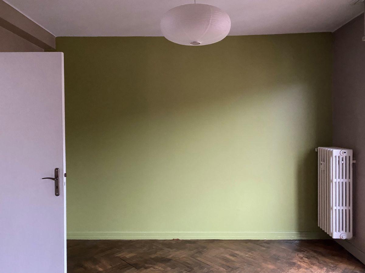 Salon avant travaux Rénovation d'un appartement dans l'hypercentre de Strasbourg