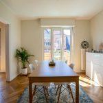 Salle à manger rénovée - Rénovation d'un appartement dans l'hypercentre de Strasbourg