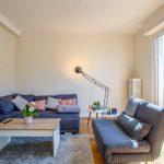 Salon rénové - Rénovation d'un appartement dans l'hypercentre de Strasbourg
