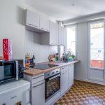 Cuisine rénovée - Rénovation d'un appartement dans l'hypercentre de Strasbourg